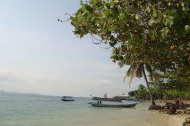 Pantai Mutun dan Pulau Tangkil