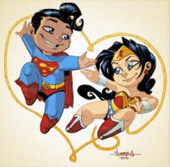 cerita humor dewasa superman dan wonder woman