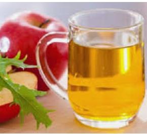 cuka sari apel untuk rambut tipis