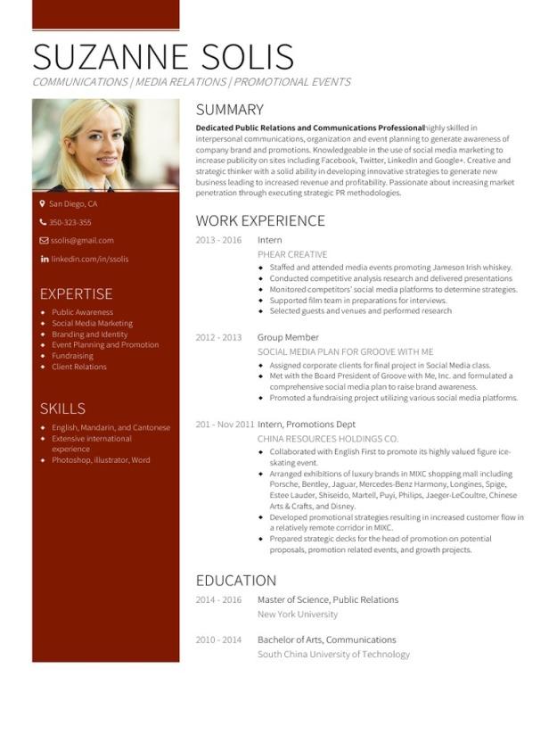 22 Contoh Cv Curriculum Vitae Resume Dan Daftar Riwayat