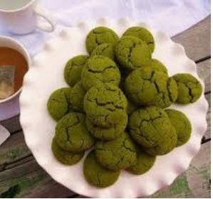 kue kering greentea cookies