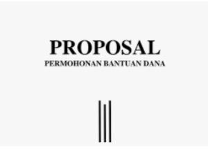 contoh proposal bantuan dana kegiatan